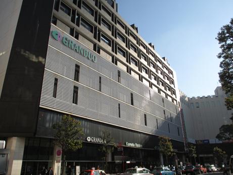 JR蒲田駅西口を下車