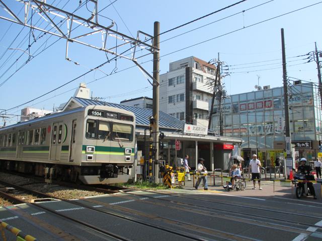 東急多摩川線武蔵新田駅