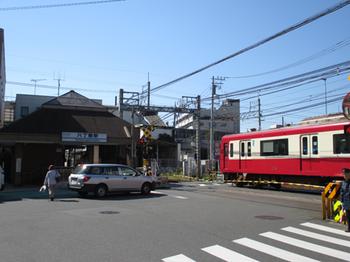京急線の八丁畷駅