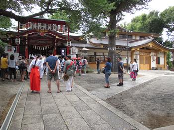 居木神社境内
