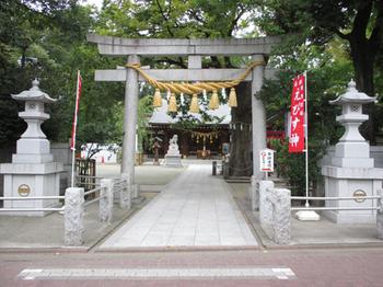 新田神社鳥居