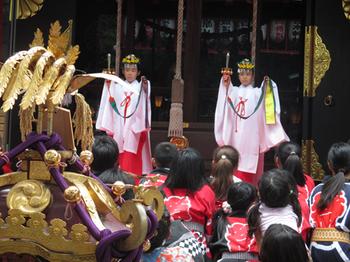 居木神社・浦安の舞