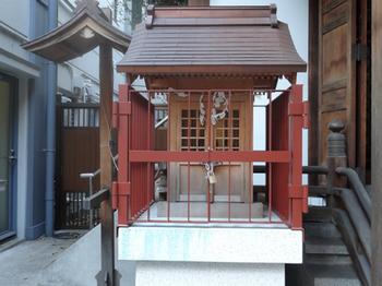 大井蔵王権現神社(福禄寿)