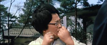 『日本一のゴマスリ男』で常務夫人の京塚昌子
