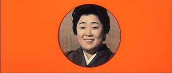 『日本一の色男』2で化粧後の京塚昌子