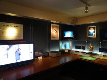 NHK放送博物館の2階