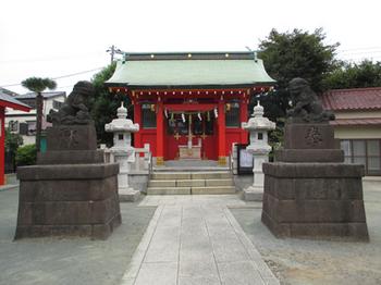 東八幡神社社殿