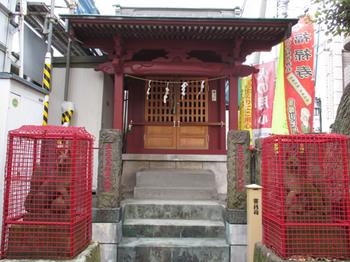 矢口中稲荷神社社殿