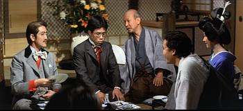 米倉斉加年と岡本信人