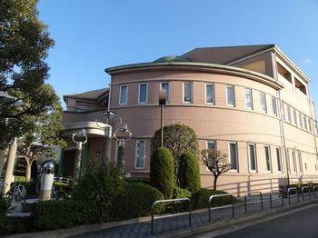 羽田図書館横から